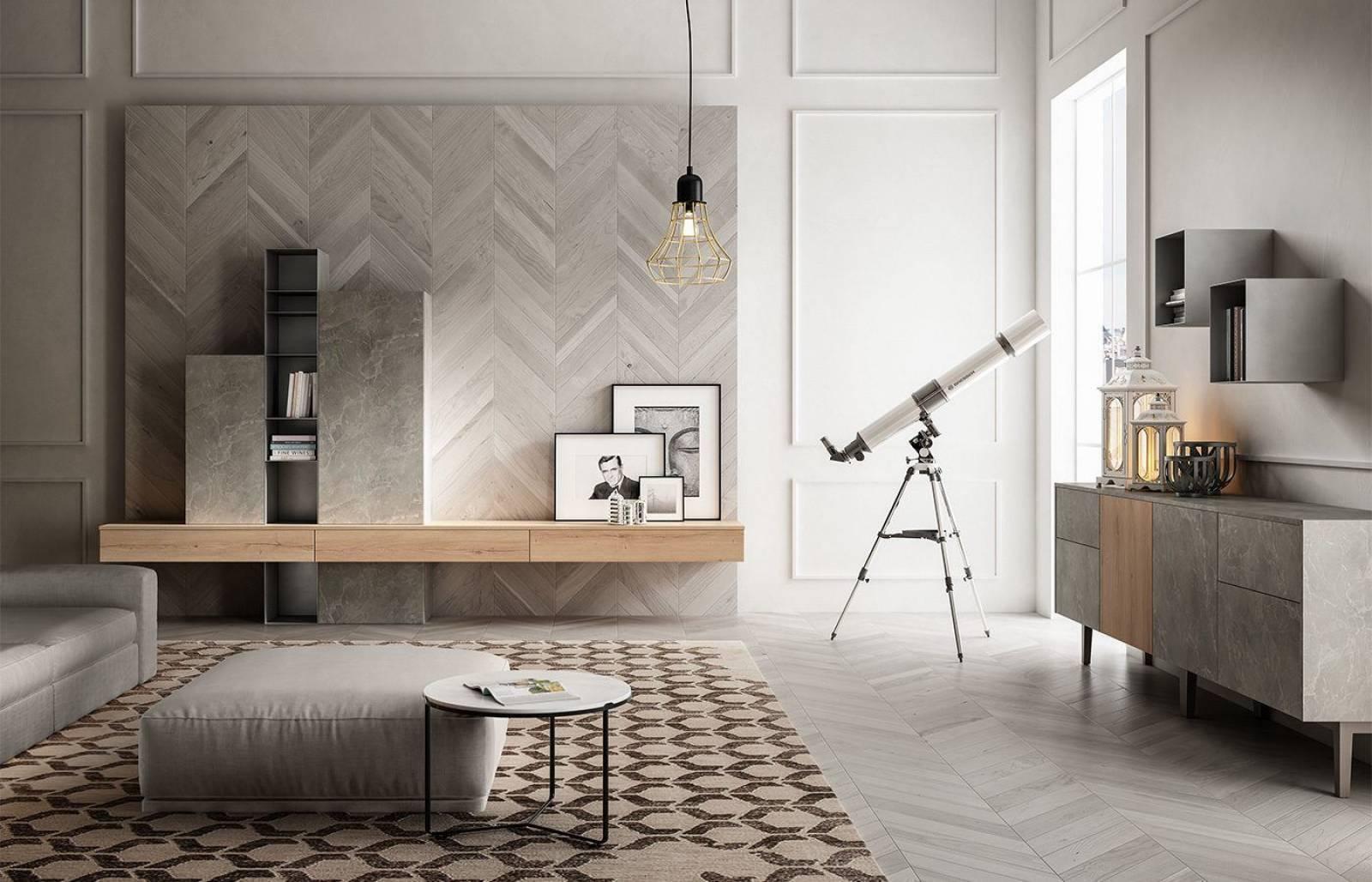 Meuble Sur Mesure Bordeaux meubles de rangement en pierre grise allié avec le bois